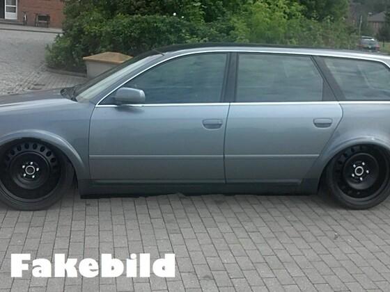 New OldSchool Audi (Audi A6 C4)